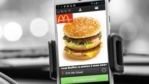 Wenn McDonald mit Uber den Pizzakurrieren an den Karren fährt