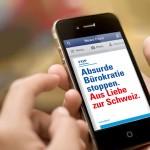 Ungleich lange Spiesse für politische Werbung Online und Offline